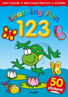 Learning Fun 123, Paperback Book