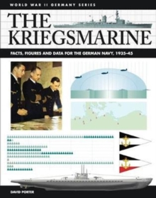 The Kriegsmarine : Facts, Figures and Data for the German Navy, 1935-45, Paperback / softback Book
