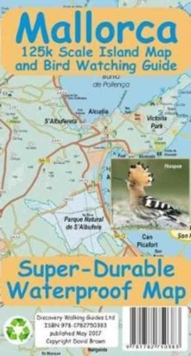 Mallorca Super-Durable Map and Bird Watching Guide, Sheet map Book