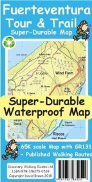 Fuerteventura Tour & Trail Super-Durable Map, Sheet map Book