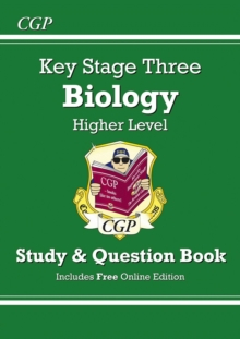 KS3 Biology Study & Question Book - Higher, Paperback / softback Book
