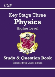 KS3 Physics Study & Question Book - Higher, Paperback / softback Book