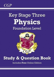KS3 Physics Study & Question Book - Foundation, Paperback / softback Book