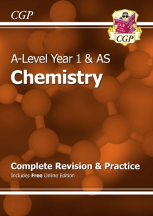 New A-Level Chemistry: Year 1 & AS Complete Revision & Practice with Online Edition, Paperback Book