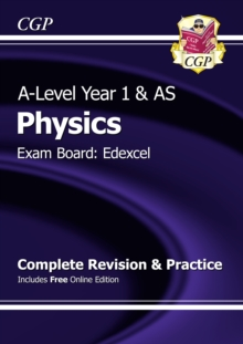 New A-Level Physics: Edexcel Year 1 & AS Complete Revision & Practice with Online Edition, Paperback Book