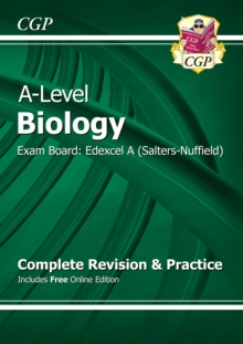A-Level Biology: Edexcel A Year 1 & 2 Complete Revision & Practice with Online Edition, Paperback / softback Book