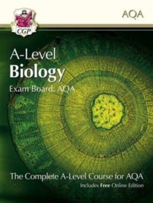A-Level Biology for AQA: Year 1 & 2 Student Book with Online Edition, Paperback / softback Book