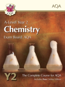 New A-Level Chemistry for AQA: Year 2 Student Book with Online Edition : The Complete Course for AQA, Paperback Book