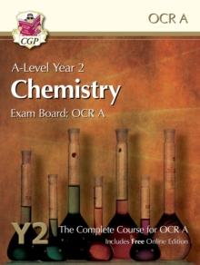 New A-Level Chemistry for OCR A: Year 2 Student Book with Online Edition, Paperback Book