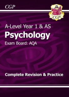 New A-Level Psychology: AQA Year 1 & AS Complete Revision & Practice, Paperback Book