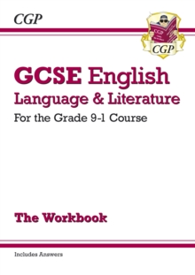 New GCSE English Language and Literature Workbook - For the Grade 9-1 Courses (Includes Answers), Paperback Book