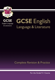 Grade 9-1 GCSE English Language and Literature Complete Revision & Practice (with Online Edn), Paperback / softback Book