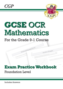 GCSE Maths OCR Exam Practice Workbook: Foundation - for the Grade 9-1 Course (includes Answers), Paperback / softback Book