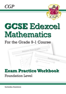 GCSE Maths Edexcel Exam Practice Workbook: Foundation - for the Grade 9-1 Course (with Answers), Paperback Book