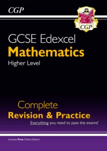 New GCSE Maths Edexcel Complete Revision & Practice: Higher - Grade 9-1 Course (with Online Edition), Paperback Book