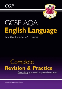 GCSE English Language AQA Complete Revision & Practice - Grade 9-1 Course (with Online Edition), Paperback Book