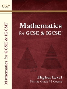 Maths for GCSE and IGCSE (R) Textbook, Higher (for the Grade 9-1 Course), Paperback / softback Book