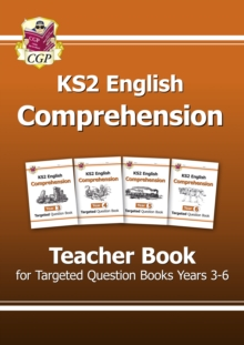 KS2 English Targeted Comprehension : Teacher Book Years 3-6, Paperback / softback Book