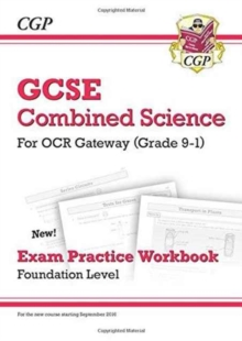 New Grade 9-1 GCSE Combined Science: OCR Gateway Exam Practice Workbook - Foundation, Paperback Book