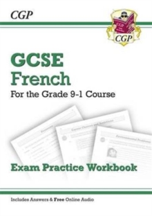 GCSE French Exam Practice Workbook - for the Grade 9-1 Course (includes Answers), Paperback / softback Book