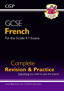 GCSE French Complete Revision & Practice (with CD & Online Edition) - Grade 9-1 Course, Mixed media product Book
