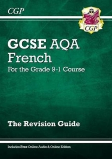 New GCSE French AQA Revision Guide - for the Grade 9-1 Course (with Online Edition), Paperback Book