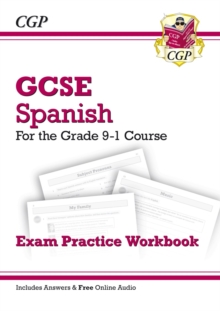 New GCSE Spanish Exam Practice Workbook - For the Grade 9-1 Course (Includes Answers), Paperback Book