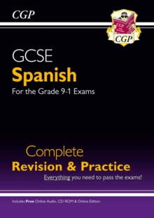New GCSE Spanish Complete Revision & Practice (with CD & Online Edition) - Grade 9-1 Course, Paperback Book