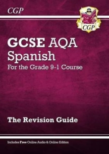 New GCSE Spanish AQA Revision Guide - For the Grade 9-1 Course (with Online Edition), Paperback Book