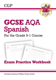 GCSE Spanish AQA Exam Practice Workbook - for the Grade 9-1 Course (includes Answers), Paperback / softback Book