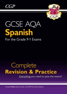 GCSE Spanish AQA Complete Revision & Practice (with CD & Online Edition) - Grade 9-1 Course, Mixed media product Book