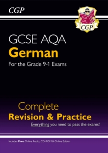 New GCSE German AQA Complete Revision & Practice (with CD & Online Edition) - Grade 9-1 Course, Paperback / softback Book