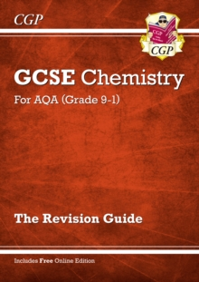 New Grade 9-1 GCSE Chemistry: AQA Revision Guide with Online Edition, Paperback / softback Book