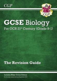Grade 9-1 GCSE Biology: OCR 21st Century Revision Guide with Online Edition, Paperback / softback Book