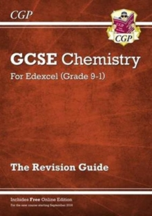 New Grade 9-1 GCSE Chemistry: Edexcel Revision Guide with Online Edition, Paperback Book