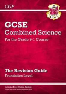 New Grade 9-1 GCSE Combined Science: Revision Guide with Online Edition - Foundation, Paperback / softback Book