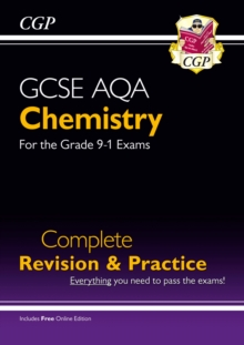 New Grade 9-1 GCSE Chemistry AQA Complete Revision & Practice with Online Edition, Paperback / softback Book