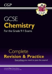 New Grade 9-1 GCSE Chemistry Complete Revision & Practice with Online Edition, Paperback / softback Book