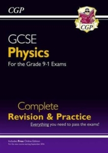 New Grade 9-1 GCSE Physics Complete Revision & Practice with Online Edition, Paperback Book
