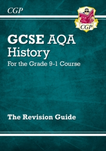 New GCSE History AQA Revision Guide - For the Grade 9-1 Course, Paperback Book