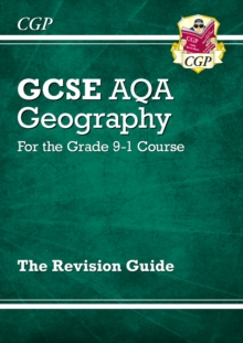 New GCSE 9-1 Geography AQA Revision Guide (with Online Ed) - New Edition for 2020 exams & beyond, Paperback / softback Book