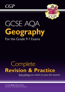GCSE 9-1 Geography AQA Complete Revision & Practice (w/ Online Ed), Paperback / softback Book