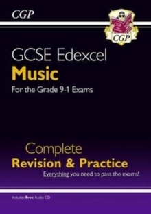 New GCSE Music Edexcel Complete Revision & Practice (with Audio CD) - For the Grade 9-1 Course, Paperback / softback Book