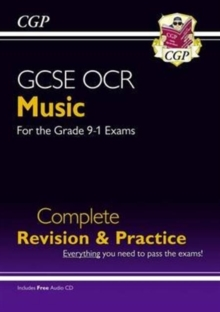 New GCSE Music OCR Complete Revision & Practice (with Audio CD) - For the Grade 9-1 Course, Paperback Book