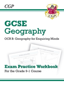 Grade 9-1 GCSE Geography OCR B: Geography for Enquiring Minds - Exam Practice Workbook, Paperback / softback Book