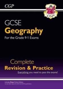 New Grade 9-1 GCSE Geography Complete Revision & Practice (with Online Edition), Paperback Book
