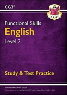New Functional Skills English Level 2 - Study & Test Practice (for 2020 & beyond), Paperback / softback Book