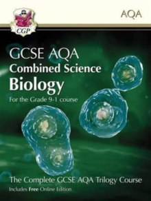 New Grade 9-1 GCSE Combined Science for AQA Biology Student Book with Online Edition, Paperback / softback Book