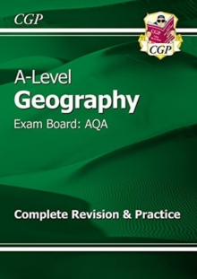 A-Level Geography: AQA Year 1 & 2 Complete Revision & Practice, Paperback / softback Book