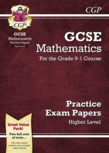 New GCSE Maths Practice Papers: Higher - For the Grade 9-1 Course, Paperback Book